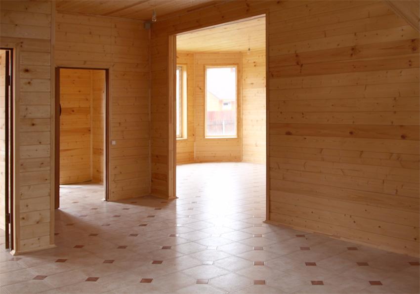 трем готовые деревянные дома без отделки внутри фото вас